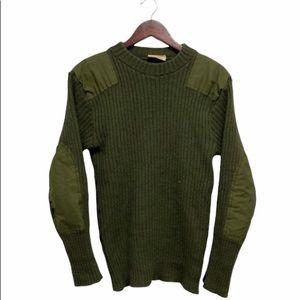 Vintage Military Sweater